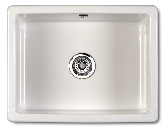 600 Ceramic Inset Or Undermount Rectangular Sink