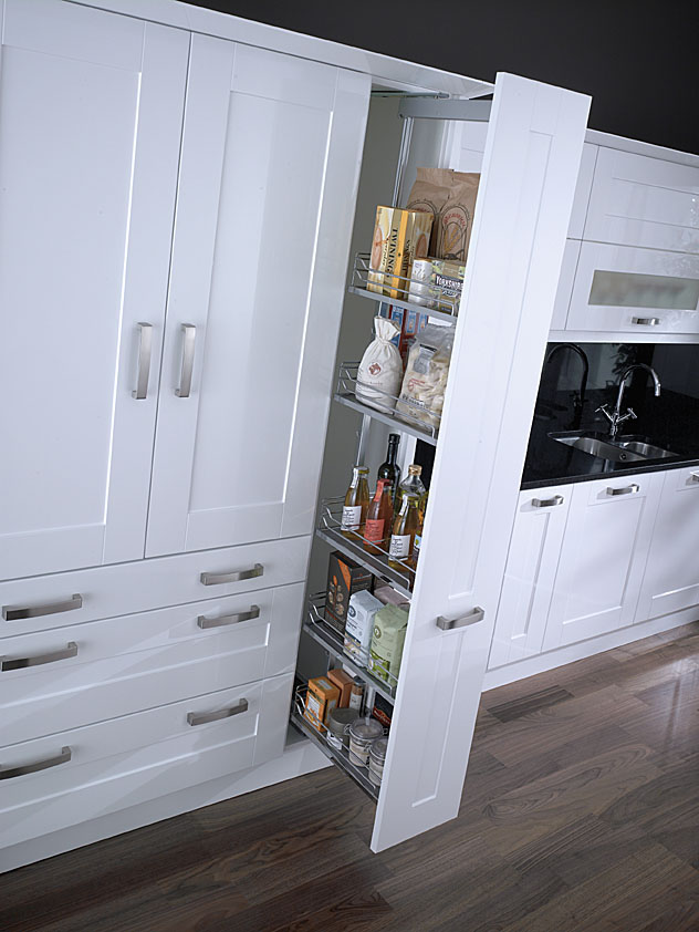 Kaslf300fesc arena style larder unit for 300mm tall kitchen unit