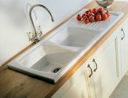 Sonnet Ceramic Double Sink